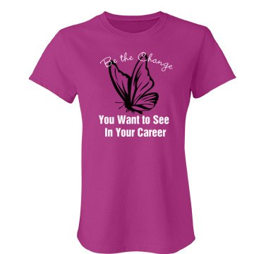 Be the Change Junior Fit Bella Favorite Tee