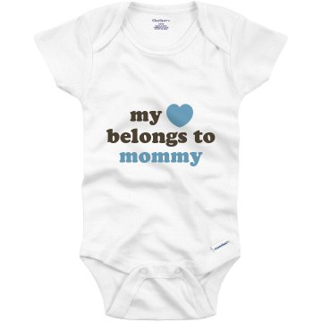 Mommy&#x27;s Heart Infant Gerber Onesies