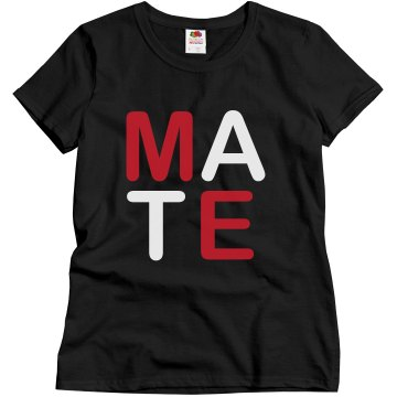 Soul Mate (U + Me) Misses Relaxed Fit Gildan Ultra Cotton Tee