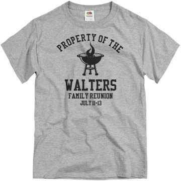 Walters Family Reunion Unisex Gildan Heavy Cotton Crew Neck Tee