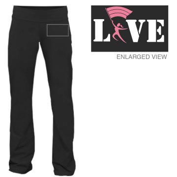 Love Guard Sweatpants Junior Fit Bella Fitness Pants