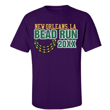 Bead Run Unisex Gildan Heavy Cotton Crew Neck Tee