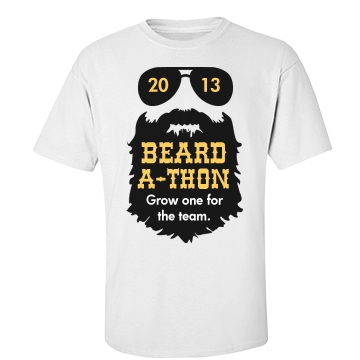 Beard-A-Thon Shirt Unisex Port & Company Essential Tee