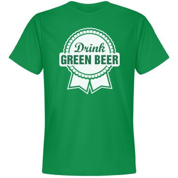 Beer Green Ribbon Parody