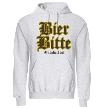Beer Please Oktoberfest Unisex Gildan Heavy Blend Hoodie