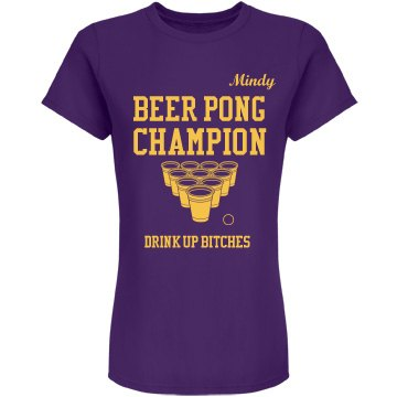 Beer Pong Team Colors