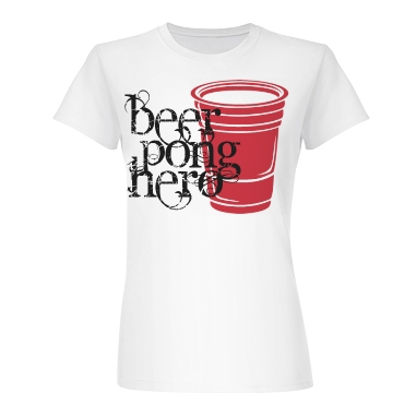 BeerPong Hero Junior Fit Basic Bella Favorite Tee