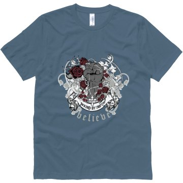 Believe Christian Unisex Canvas Jersey Tee