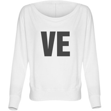 Best Friends VE Bella Flowy Lightweight Long Sleeve Dolman Tee