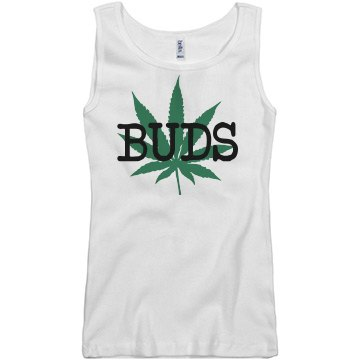 Best Of Buds Junior Fit Basic Bella 2x1 Rib Tank Top