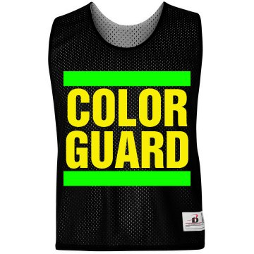 Color Guard LAX Pinnie Badger Sport Lacrosse Reversible Practice Pinnie