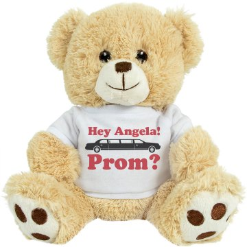 Angela's Prom Medium Plush Teddy Bear