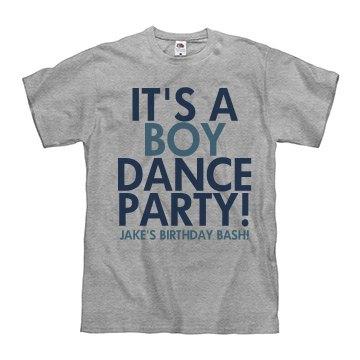 Birthday Boy Dance Party