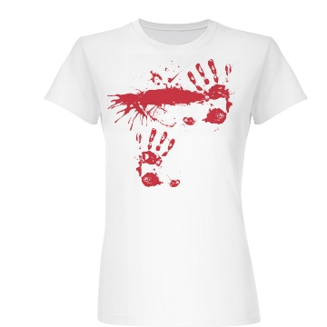 Blood Smear Junior Fit Basic Bella Favorite Tee