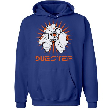 BLU Dubstep 3.0 Unisex Hanes Ultimate Cotton Heavyweight Hoodie