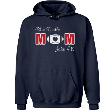 Blue Devils Football Mom