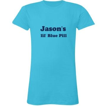 Blue Pill Junior Fit LA T Fine