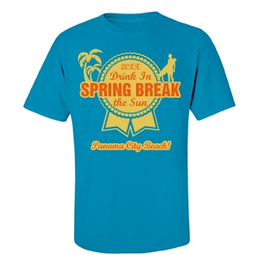 Blue Ribbon Spring Break Unisex Port & Company Essential Tee