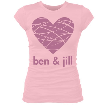 Boyfriend and Girlfriend Junior Fit Bella Sheer Longer Length Rib Tee