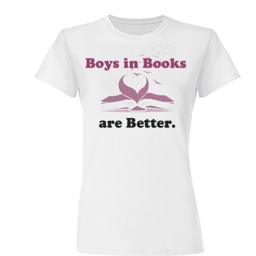 Boys in Books Junior Fit