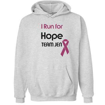 Breast Cancer Hoodie Unisex Hanes Ultimate Cotton Heavyweight Hoodie