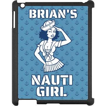 Brian's Navy Nauti Girl