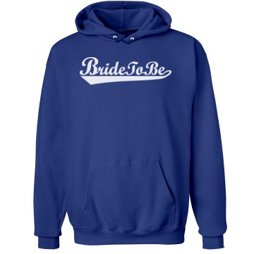 Bride To Be Pink Hoodie Unisex Hanes Ultimate Cotton Heavyweight Hoodie