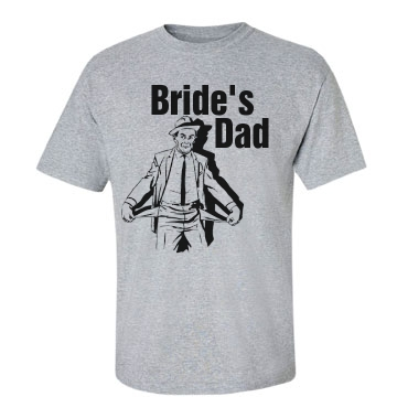 Bride's Dad Unisex Basic Gildan Hea