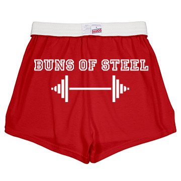 Buns Of Steel Junior Fit Soffe Cheer Shorts