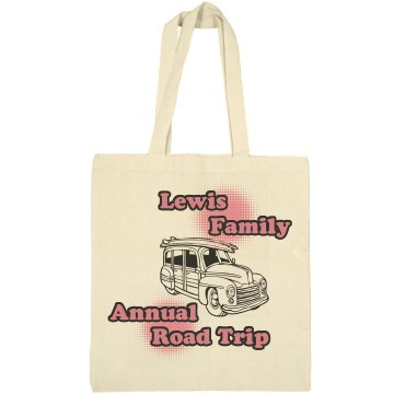 Annual Road Trip Bag Liberty Bags Canvas Bargain Tote Bag