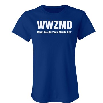WWZMD Junior Fit Bella Crewneck Jersey Tee