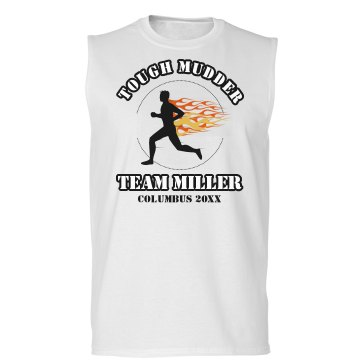 Tough Mudder Tee Unisex Gildan Ultra Cotton Sleeveless Tee