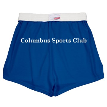 Sports Club Shorts Junior Fit Soffe Cheer Shorts