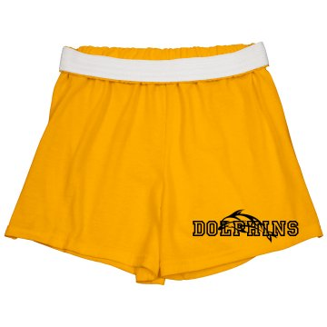Team Shorts Junior Fit Soffe Cheer Shorts