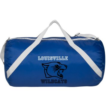 Wildcat Gym Tote Augusta Sport Roll Bag