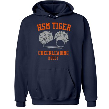 Tiger Cheerleading Unisex Gildan Heavy Blend Hoodie