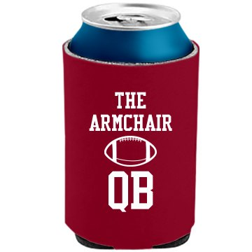 Armchair Quarter Back The Official KOOZIE Can Kooler