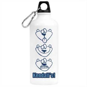 Ken's Desk Water Bottle Aluminum Water Bottle