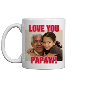 Grandparents Photo Mug 11oz Ceramic Coffee Mug