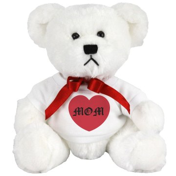 MOM Tattoo Medium Plush Teddy Bear
