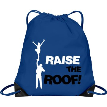 Raise The Roof Port & Company Drawstring Cinch Bag