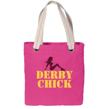 Derby Chick Tote Port Authority Color Canvas Tote