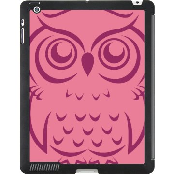 Owl iPad Case Black iPad Smart Cover