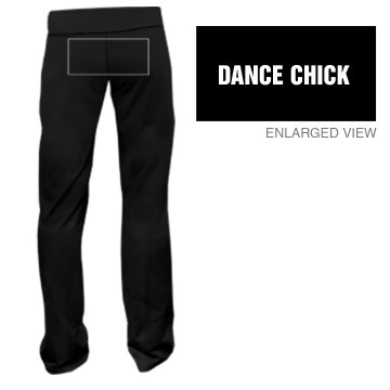 Dance Chick Sweats Junior Fit Bella Fitness Pants