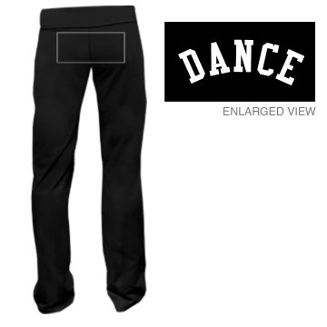 Dance Team Sweats Junior Fit Bella Fitness Pants