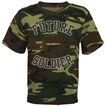 Future Soldier Youth Code V Camouflage Tee