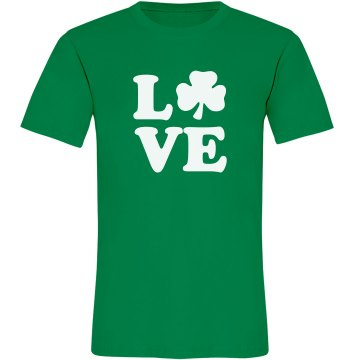 Irish Love Misses Relaxed Anvil Organic Tee