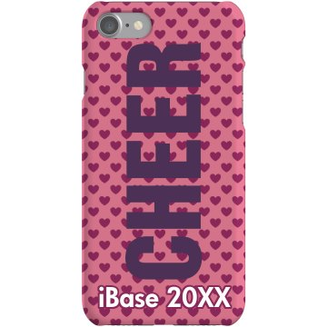 Big Cheer iPhone Case Plastic iPhone 5 Case Black