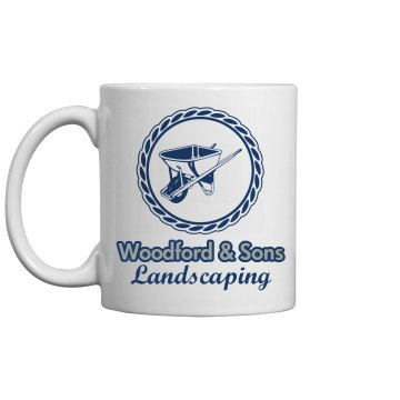 Wheelbarrow Mug 11oz Ceramic Coffee Mug