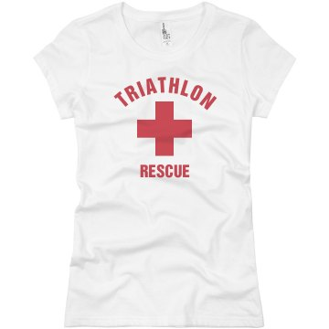 Triathlon Rescue Junior Fit Basic Bella Favorite Tee